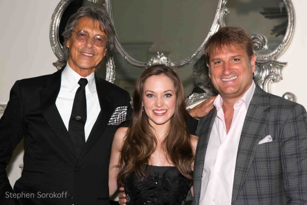Tommy Tune, Laura Osnes & Bonnie & Clyde Director Jeff Calhoun at Laura Osnes Makes Cabaret Debut at The Cafe Carlyle - Joel Grey, Colin Donnell & More!