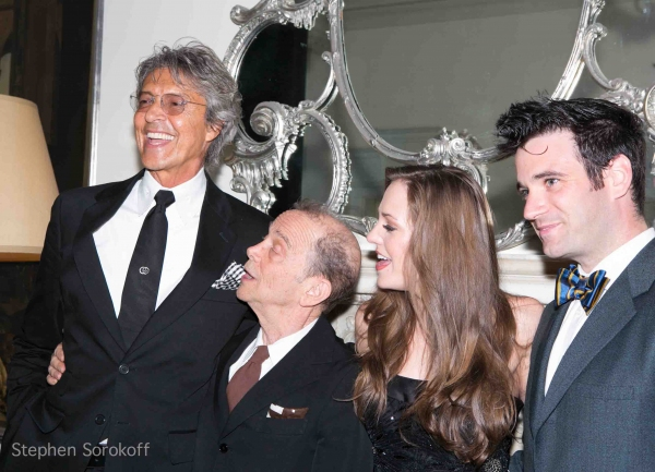 tommy Tune, Joel Grey, Laura Osnes, Colin Donnell at Laura Osnes Makes Cabaret Debut at The Cafe Carlyle - Joel Grey, Colin Donnell & More!