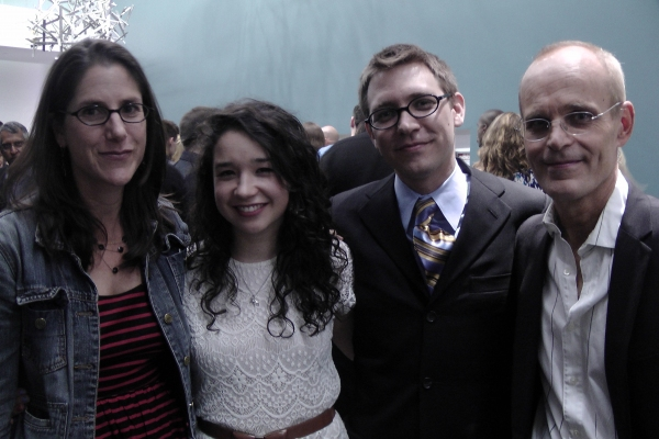 Anne Kauffman, Sarah Steele, Greg Pierce and Zeljko Ivanek