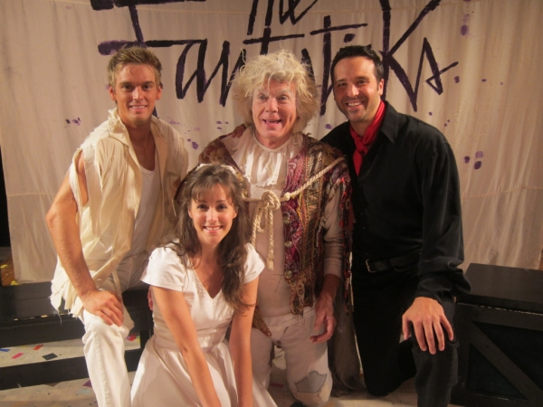 Photo Flash: Composer Harvey Schmidt Visits THE FANTASTICKS