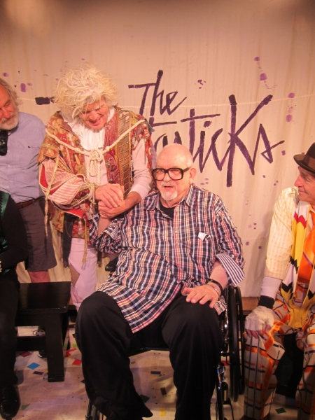 John Davidson and Fantasticks composer Harvey Schmidt