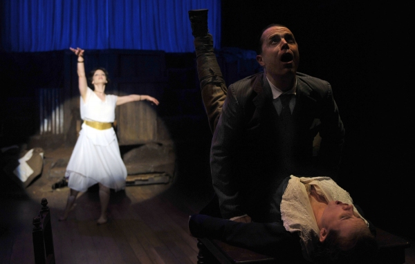 Photo Flash:  First Look at Mark Jackson's SALOMANIA at the Aurora Theatre!