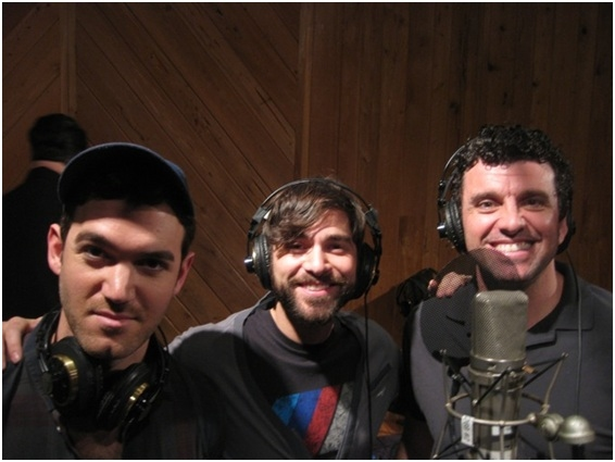Photo Flash: Ricky Martin, Elena Roger, Michael Cerveris and the Cast of EVITA in the Recording Studio!