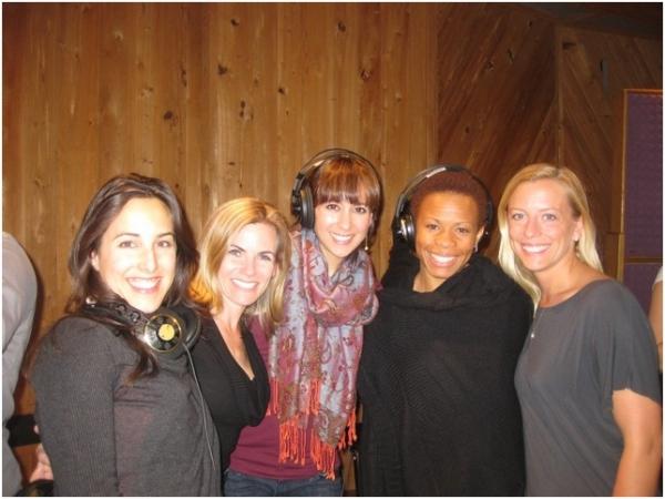 Jessica Lea Patty, Jennie Ford, Kristin Covillo, Bahiyah Hibah and Ashley Amber