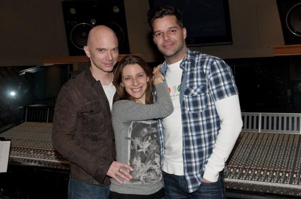 Ricky Martin, Elena Roger and Michael Cerveris