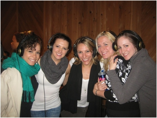 Sydney Morton, Rachel Potter, Erica Mansfield, Kristie Dale Sanders and Margot De La Barre