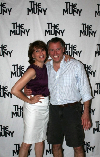 Beth Leavel, Stephen Buntrock at Inside Opening Night of MUNY's THOROUGHLY MODERN MILLIE with Beth Leavel, Leslie Uggams, and More!