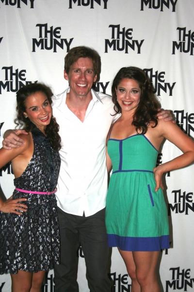 Chelsea Groen, Andrew Samonsky and Jordana Grolnick Photo