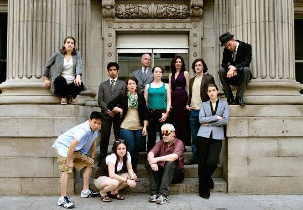 Chloe Payne (perched), John Chou, Leah Holder, Thomas Gough, Cydney Penner, Kathryn M Photo