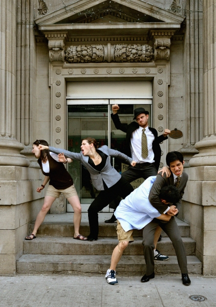 Photo Flash: First Look at Soup Can Theatre's ANTIGONE at Toronto Fringe