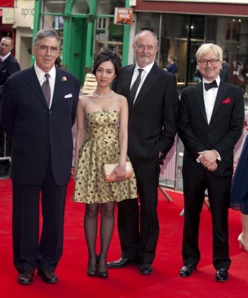 Elliot Gould, Kiki Sugino, Jim Broadbent and Chris Fujiwara
