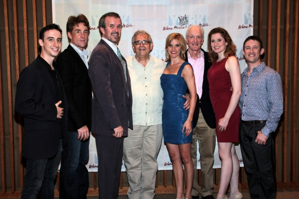 Danny Weller, Sal Viviano, George Dvorsky, Richard Maltby, Jr., Jenn Colella, David Shire, Christiane Noll, Andrew Gerle at York Theatre Opens CLOSER THAN EVER - Christiane Noll & More!