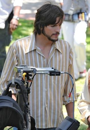 Photo Flash: First Look - Ashton Kutcher in Steve Jobs Biopic