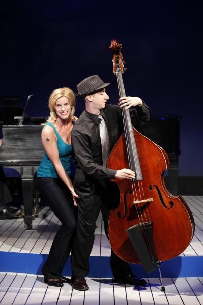 Jenn Colella and Danny Meyer