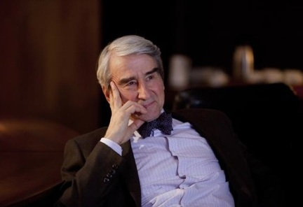 Sam Waterston at First Look - Jeff Daniels, Emily Mortimer in HBO's THE NEWSROOM