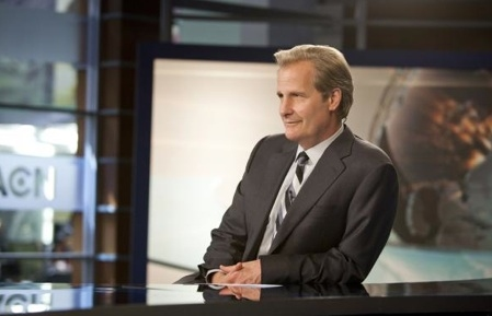Jeff Daniels at First Look - Jeff Daniels, Emily Mortimer in HBO's THE NEWSROOM