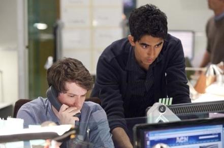 John Gallagher, Jr. & Dev Patel