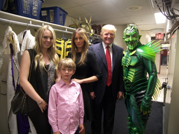 Donald Trump and Family, Patrick Page Photo
