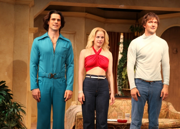 Eddie Cahill, Anna Chlumsky, Jake Silbermann at 3C Celebrates Opening Night at Rattlestick Playwrights Theater