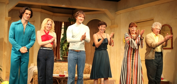 Eddie Cahill, Anna Chlumsky, Jake Silbermann, Hannah Cabell, Kate Buddeke & Bill Buell at 3C Celebrates Opening Night at Rattlestick Playwrights Theater
