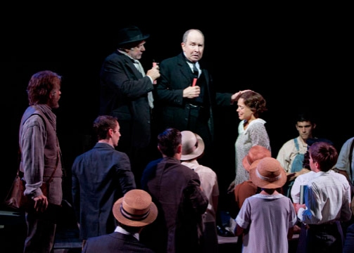 Photo Flash: First Look at Old Globe's INHERIT THE WIND