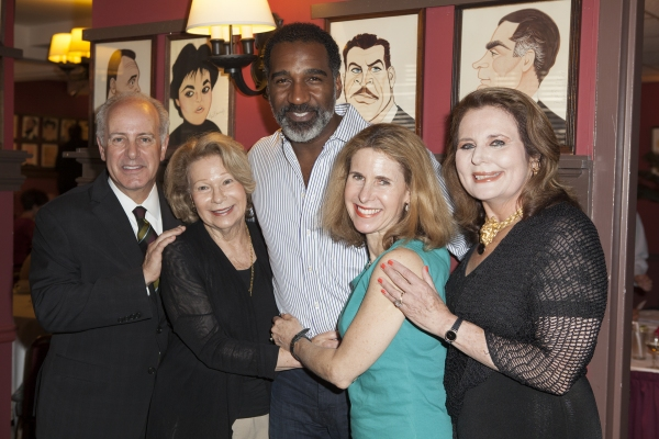 Joseph P. Benincasa, Sylvia Steiner, Norm Lewis, Ellen Steiner Dolgin and Randie Levi Photo