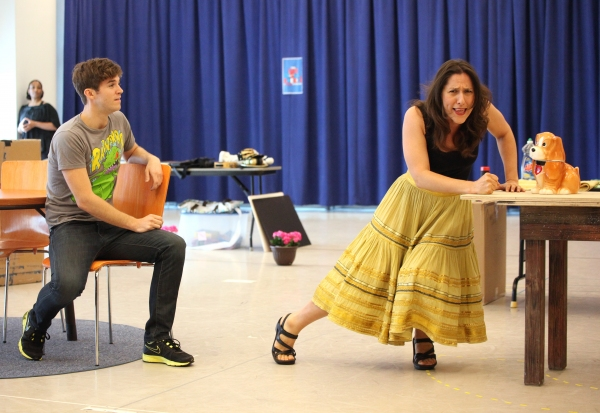 Photo Coverage: THE LAST SMOKER IN AMERICA Meets the Press - Performance Preview!