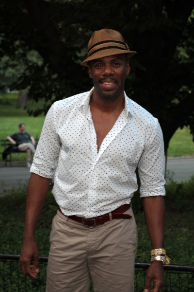 Colman Domingo at AS YOU LIKE It Starry Theatre Arrivals