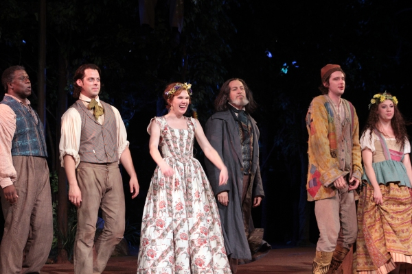 Andre Braugher, David Furr, Lily Rabe, Stephen Spinella, Will Rogers, Susannah Flood at AS YOU LIKE IT Opens at the Delacorte Theatre - Oliver Platt & More!