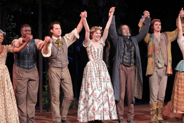 Andre Braugher, David Furr, Lily Rabe, Stephen Spinella, Will Rogers at AS YOU LIKE IT Opens at the Delacorte Theatre - Oliver Platt & More!