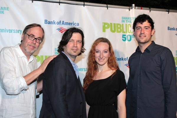 Tony Trischka, Skip Ward, Anna Phyllis Smith, Jordan Tice Photo