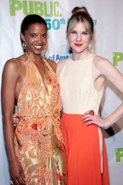 Renee Elise Goldsberry, Lily Rabe at AS YOU LIKE IT Opens at the Delacorte Theatre - Oliver Platt & More!
