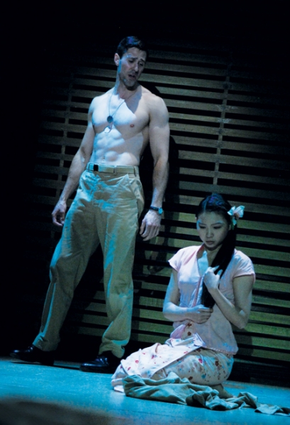 Christopher Johnstone and Hsin-Yu Liao  at  First Look at Branch Fields and Jennie Sophia in SOUTH PACIFIC!