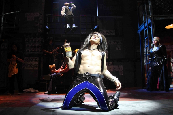 MiG Ayesa at First Look at Ayesa, Morales, Volante et al. in ROCK OF AGES Manila