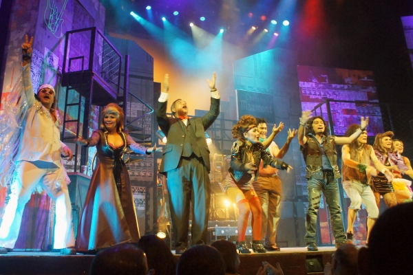Photo Flash: First Look at Ayesa, Morales, Volante et al. in ROCK OF AGES Manila