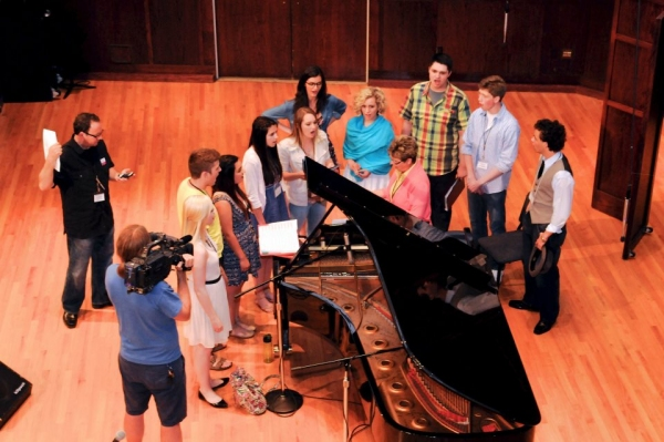 Photo Flash: Inside the Great American Songbook Competition!