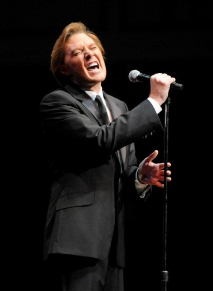 Clay Aiken at  Barry Manilow, Cole Porter, et al. Inducted Into Great American Songbook Hall of Fame