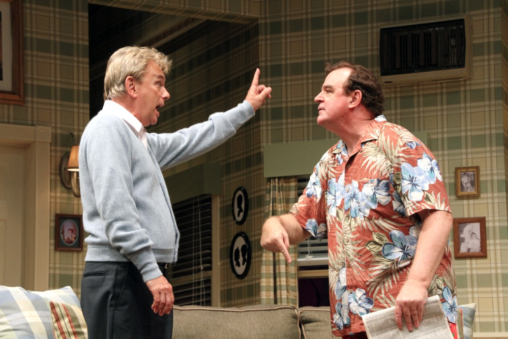 Photo Flash: Pat Sajak and Joe Moore in THE ODD COUPLE at Connecticut Rep!