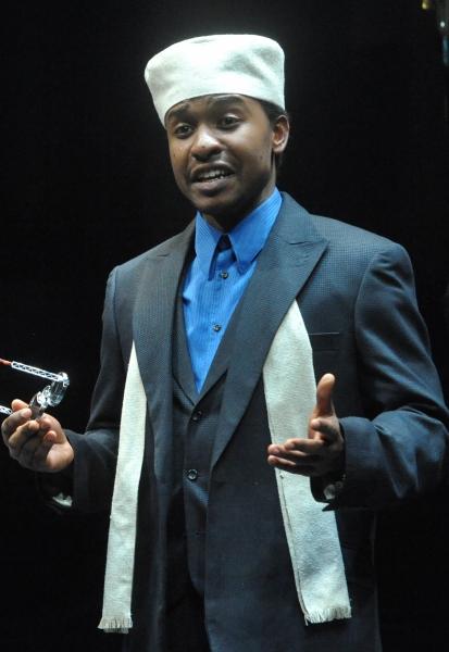 Aubrey Dube as Nigel Abjibala in Serious Money