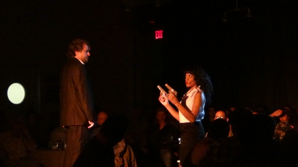 Jason Paige, Dionne Gipson at FOR THE RECORD: TARANTINO IN CONCERT at Rockwell Table and Stage