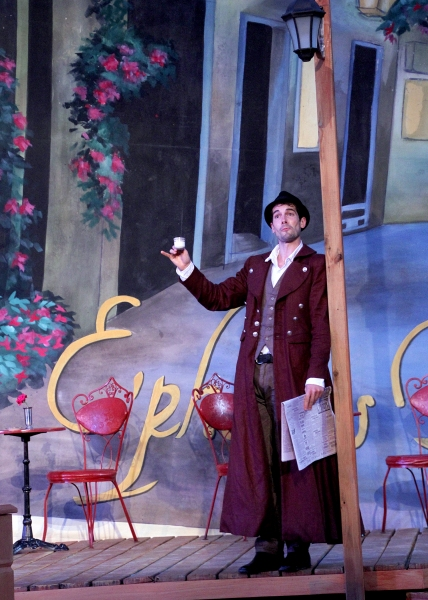 Matthew Simpson as Antipholes of Syracuse at Shakespeare Theatre of New Jersey Presents THE COMEDY OF ERRORS