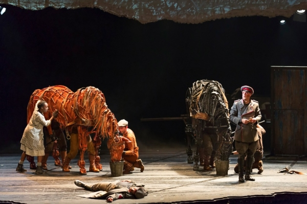 Lavita Shaurice, Andrew May and the Cast of WAR HORSE