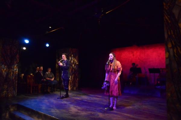 David Ebke as Moritz and Analisa Swerczek as Ilse singing Don't Do Sadness/Blue Wind