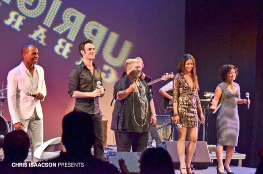 Photo Coverage: Upright Cabaret's VIVA LAS VEGAS Starring SMASH's Leslie Odom Jr, Patrick Cassidy & more!