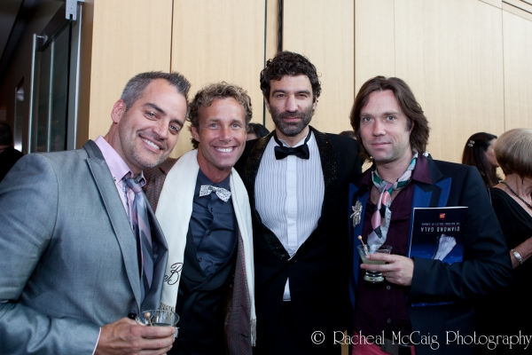Rex Harrington, Robert Hope, Jorn Weisbrodt and Rufus Wainwright