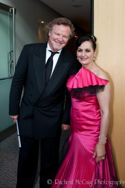 Geraint Wyn Davies and Veronica Tennant