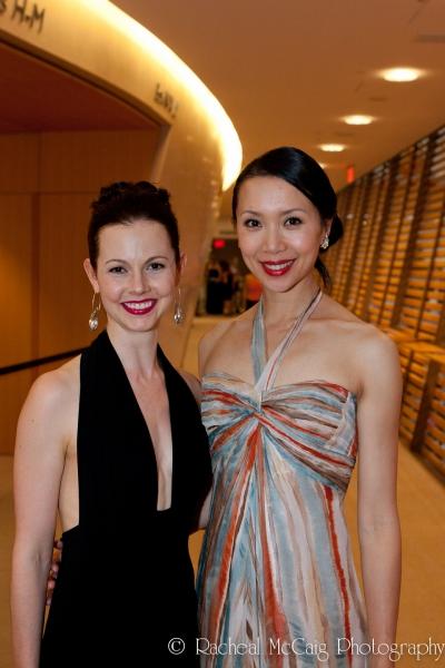 Greta Hodgkinson and Xiao Nan Yu