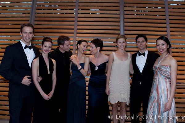 Jiri Jelinek, Jillian Vanstone, Aleksandar Antonijevic, Greta Hodgkinson, Karen Kain, Photo