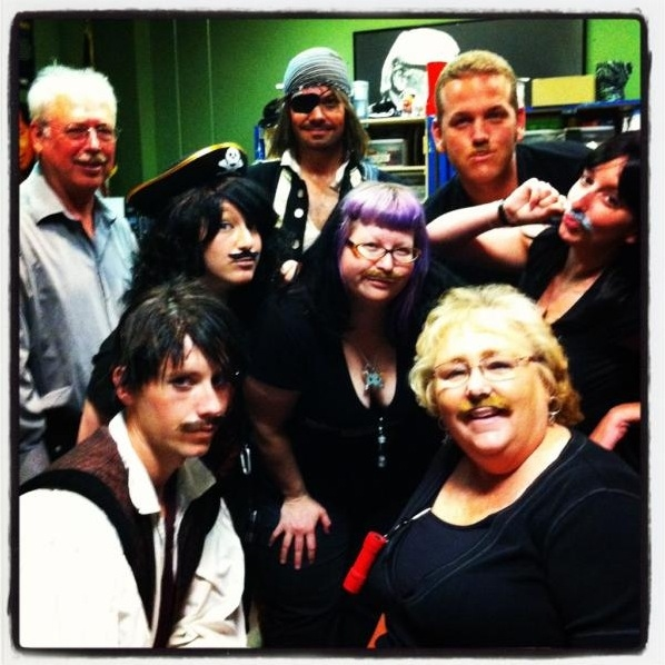 Photo Flash: Saturday Intermission Pics, June 23, Part 2 - GODSPELL Cast and PRISCILLA's Nick Adams and Ellyn Marsh Say Farewell