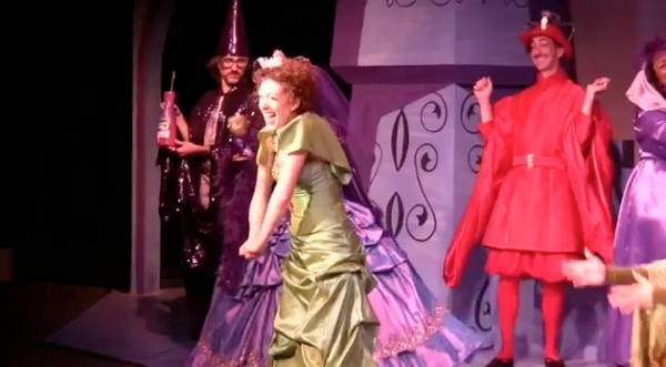Photo Flash: New Images from ONCE UPON A MATTRESS at the Coterie Theatre